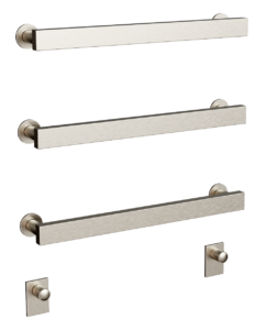 Form flat in brushed nickel