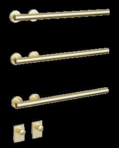 Flux original in brushed brass